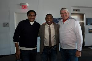 Chuck Foreman, Troy Brown, Mark Rypien