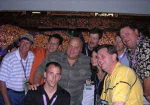 2003 Final Four Guest Speaker Rick Majerus with VIP Guests