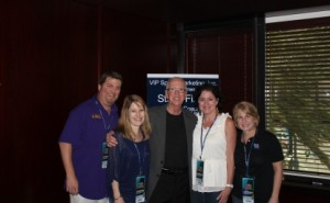 2012 Guest Speaker Coach Steve Fisher with VIP Guests