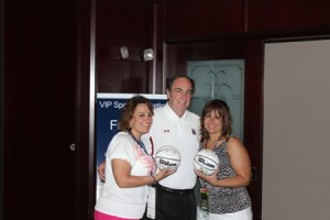 2012 Guest Speaker Coach Fran Dunphy with VIP Guests