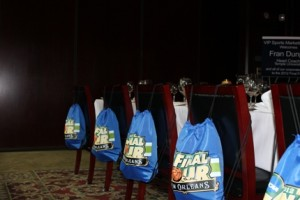 2012 NCAA Final Four Souvenir Bags from VIP Hospitality in New Orleans