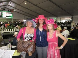 2011 Kentucky Derby - VIP Guest enjoying the Bacardi Infield Club