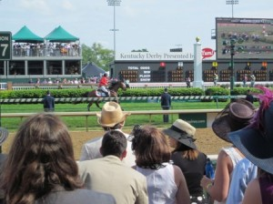 2011 Kentucky Derby - View from 100 Level Seats