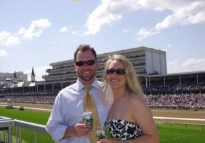 2008 Kentucky Derby - VIP Guests Enjoying their Private Patio