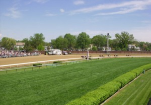2008 Kentucky Oaks - View from Infield Suite