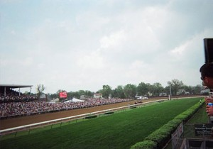 2007 Kentucky Derby - View from Infield Suite