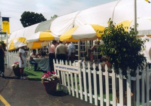 2006 Exterior View of VIP Hospitality Chalet