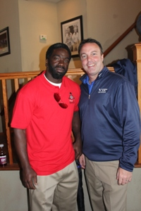 VIP Representative with Football Great Ed Reed