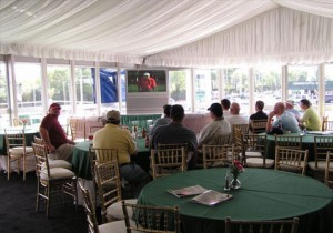 Interior View of 1999-2007 VIP Hospitality Chalet at The Masters