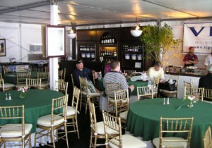 Interior View of the 1999-2007 VIP Hospitality Chalet at The Masters