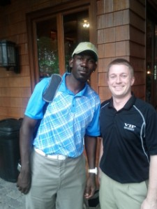 2-time NBA All-Star Michael Finley w/ VIP Representative