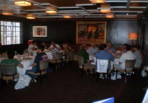 2008 VIP Hospitality at Patroon Restaurant