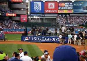 2008 MLB All Star Game View From Client Seats
