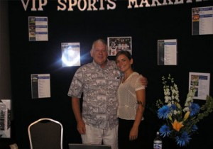 2005 Guest Speaker WS MVP Mickey Lolich with VIP Representative