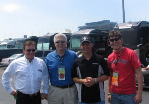 VIP Guests with Richard Childress and driver Clint Bowyer