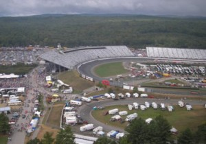 View from VIP Private Helicopter Transportation to race