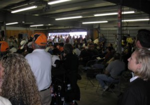 Pre-Race Drivers' Meeting