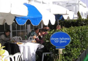 2007 VIP Private Hospitality Patio at Pebble Beach