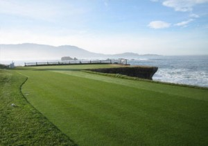 18th Tee at Pebble Beach