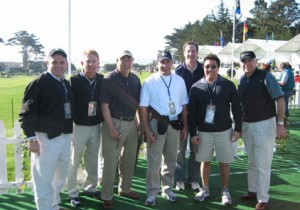 VIP Clients enjoying their afternoon at Pebble Beach