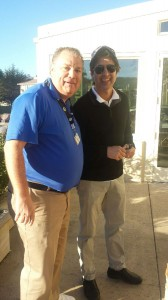 Ray Romano with VIP Representative