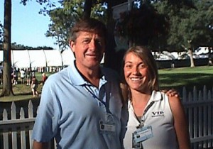Craig Sager with VIP Representative