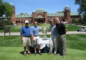 2006 VIP Clients with PGA Trophy