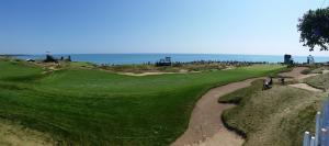 2015 PGA - Whistling Straits - view from chalet