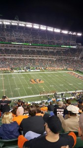 Browns vs. Bengals at Paul Brown Stadium